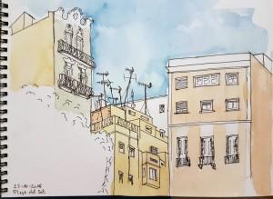 Placa del sol, Barcelona
