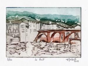 St Antonin Noble Val, le pont.